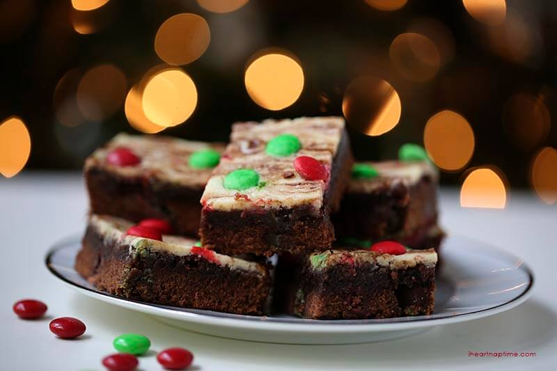 Marbled brownies on I Heart Nap TIme