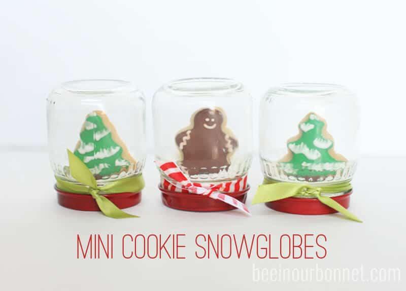 Mini Cookie Snowglobes I Heart Nap Time