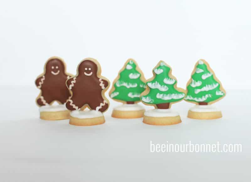 sugar cookie snow globes