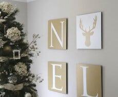Noel free printable art