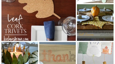 Wood and Leaf Decor Ideas
