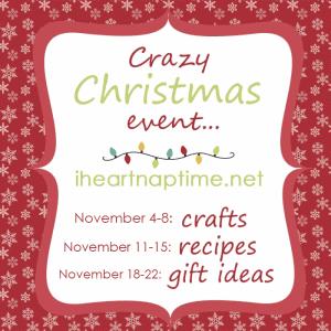 Crazy Christmas Event on iheartnaptime.com