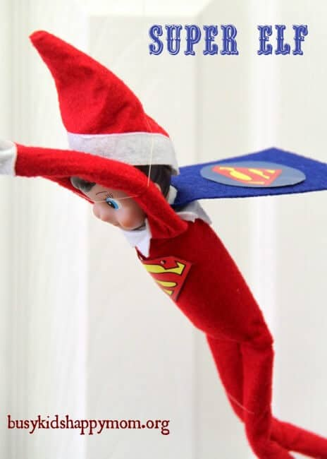 Super elf flying