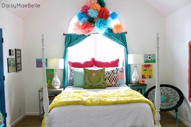 girls room reveal I Heart Nap Time | I Heart Nap Time - Easy ...
