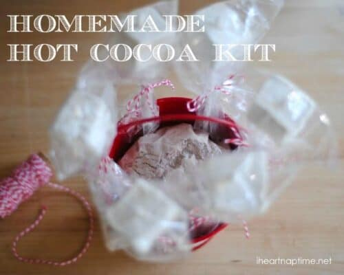 homemade hot cocoa kit