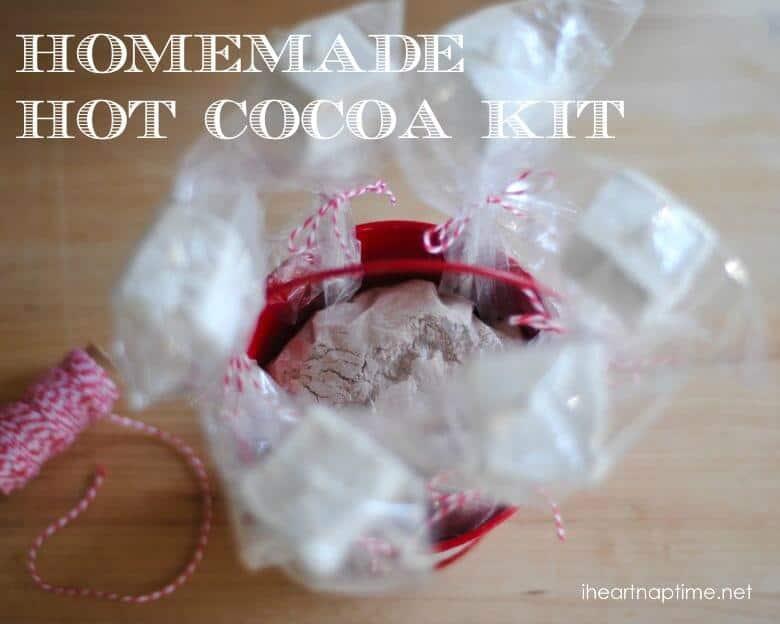 homemade hot cocoa kit