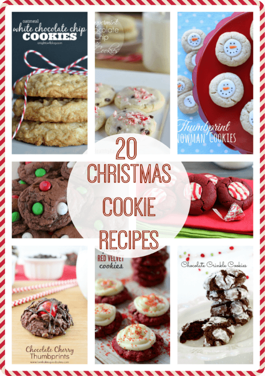 20 Christmas Cookie Recipes