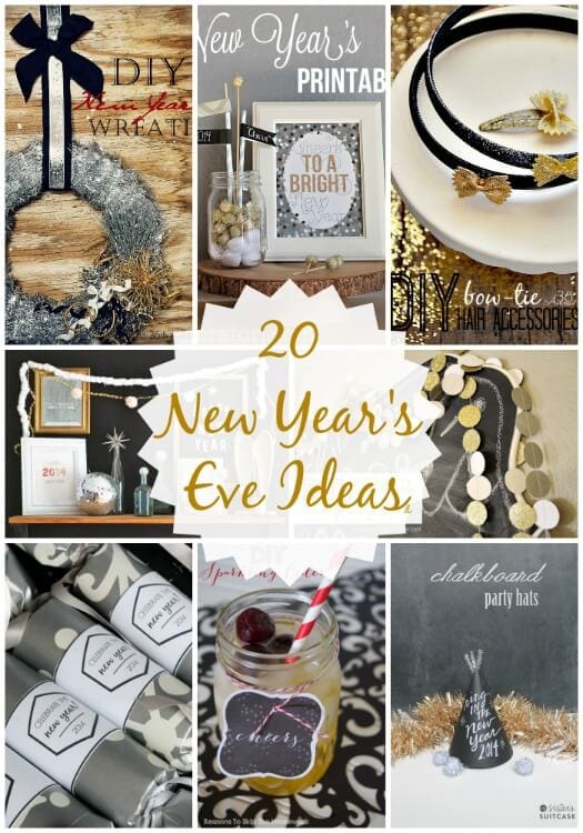 20 New Year\'s Eve Ideas {Link Party Features} - I Heart Nap Time
