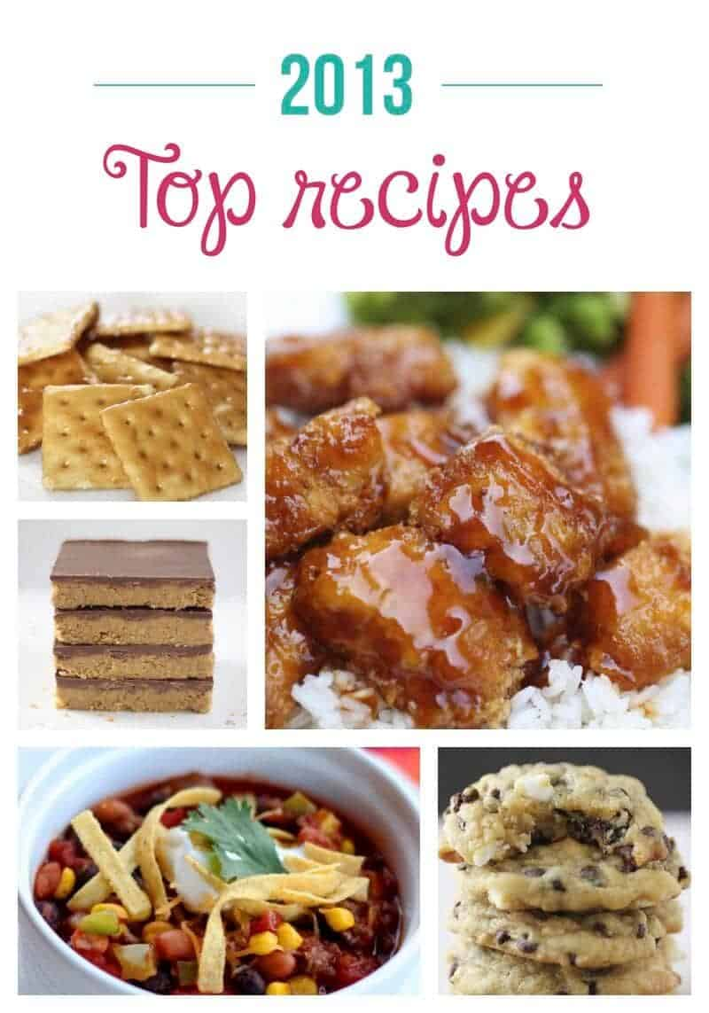 2013 top recipes on iheartnaptime.net