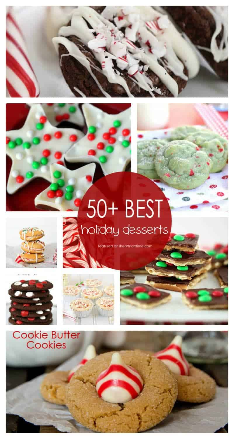 50 best holiday desserts i heart nap time for Pics of christmas desserts