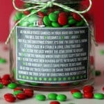 Christmas M&M Poem