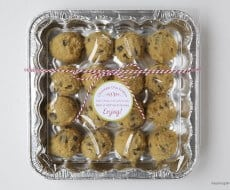 Cookie dough Christmas gift idea
