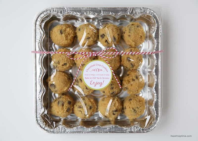 cookie dough christmas gift idea - Christmas Cookie Gift Ideas