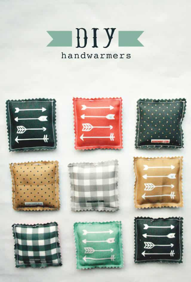 Easy Craft Ideas For Christmas Gifts Part - 34: DIY Hand Warmers