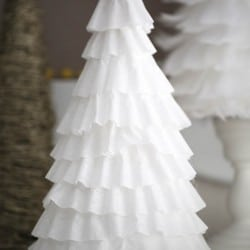 DIY coffee filter tree