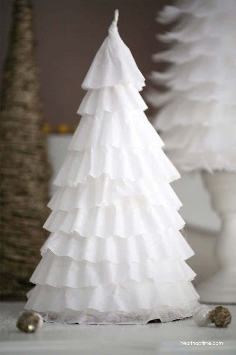 diy 1 coffee filter trees i heart nap time