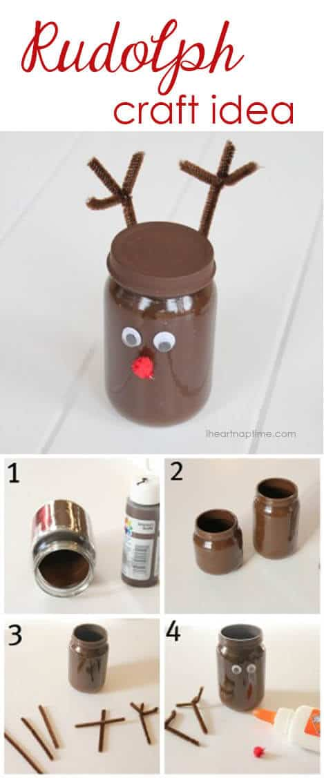 Rudolph craft idea