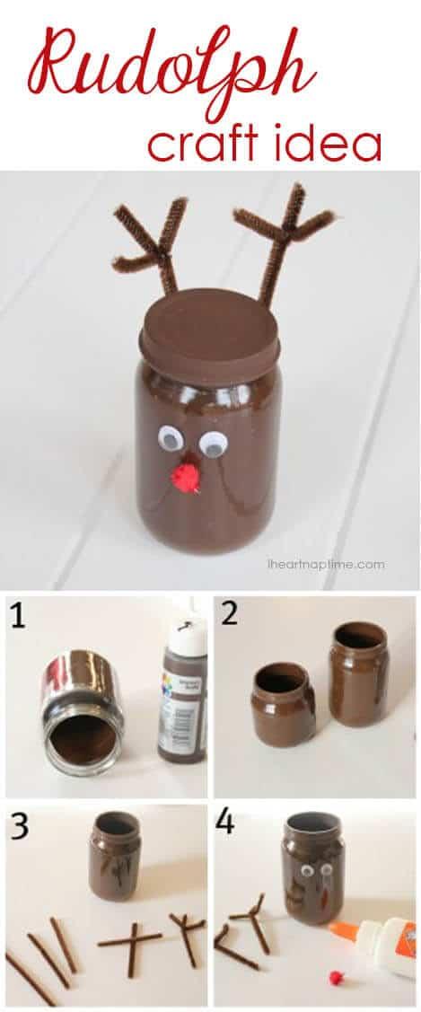 Rudolph craft idea