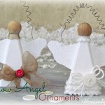 Snow Angel Ornaments 2