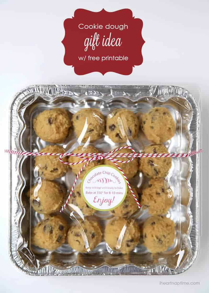 cookie dough gift idea