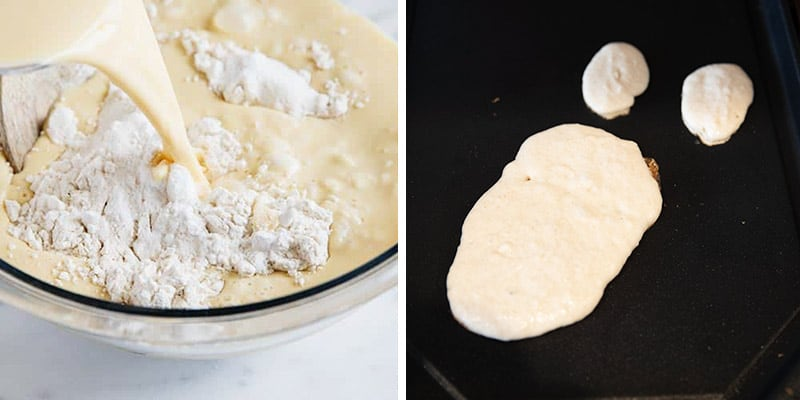 how to make reindeer pancakes