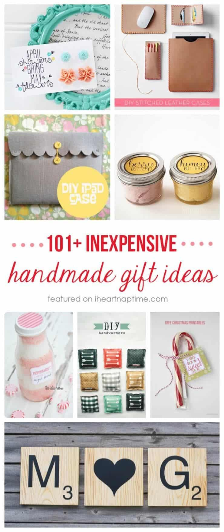 50 homemade gift ideas to make for under 5 i heart nap time Homemade christmas gifts