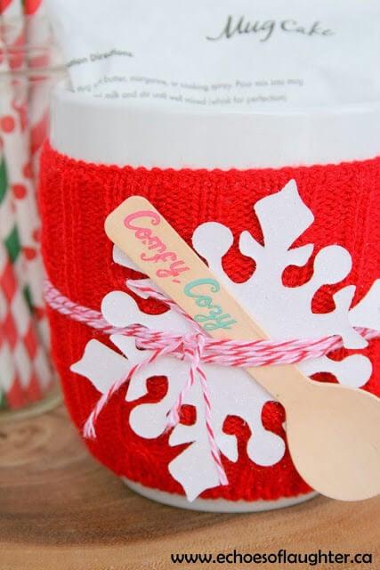 mug cake gift idea