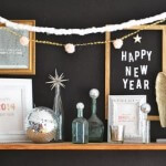 new year mantel