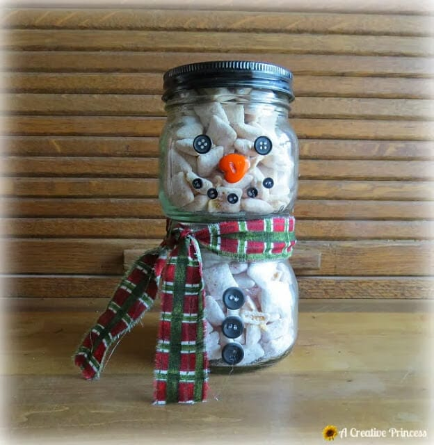 santa treat jar