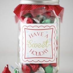 sweets gift idea w/ free printable