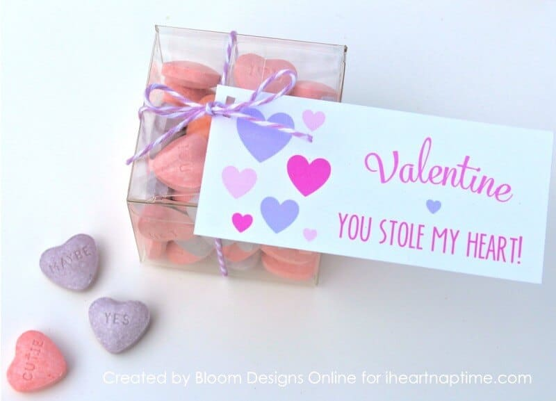 You Stole My Heart free printable