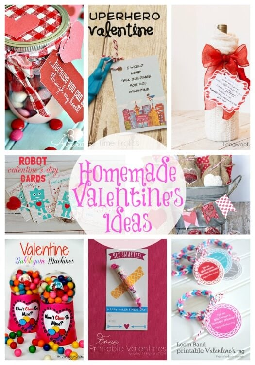 20 Handmade Valentine 39 S Ideas Link Party Features I