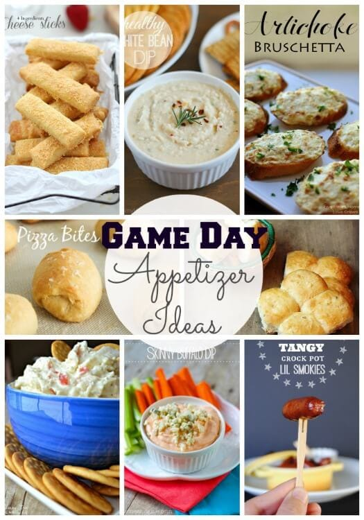 Appetizer Ideas for Game Day