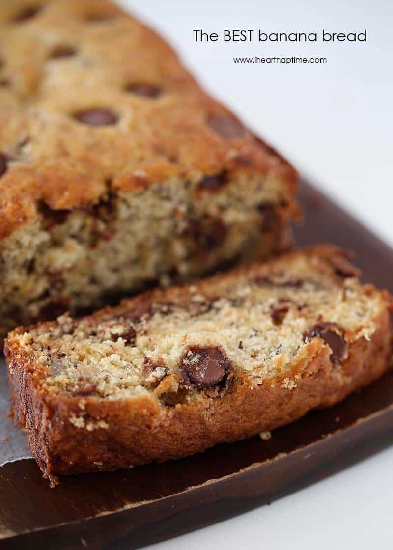 Banana Bread Chocolate Chip Bread Recipe — Dishmaps