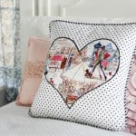 Heart Applique for Pillows