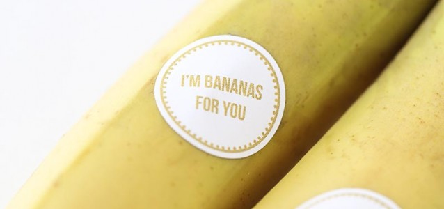 Bananas for you free printable