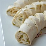 Jalapeno Cheese Tortilla Rollups from The Cards We Drew using Kraft cheese