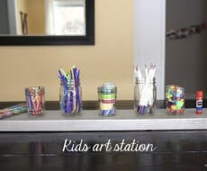 Kids art station