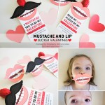 Mustache and Lip Sucker Valentines on www.iheartnaptime.com #valentinesday #valentineprintable #valentine #mustacheprintable