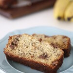 The best chocolate chip banana bread!