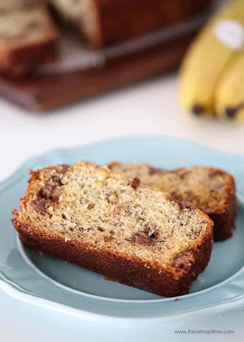 Best Chocolate Chip Banana Bread Recipe - I Heart Nap Time