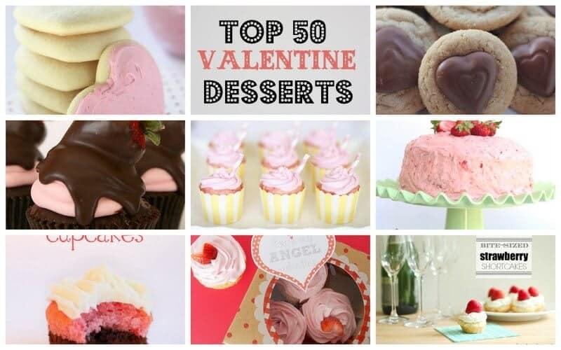 Top 50 Valentine Desserts