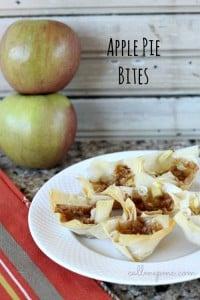 apples pie bites