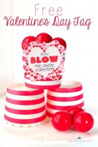 bubble gum valentine