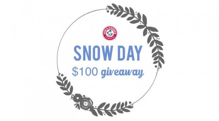 Snow day $100 giveaway