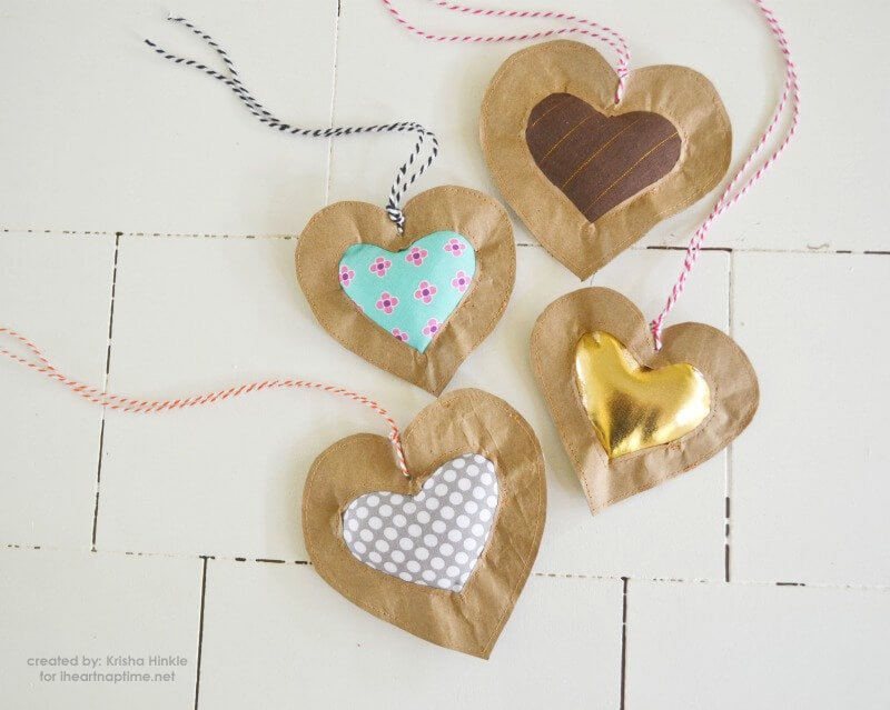 puffy heart tags