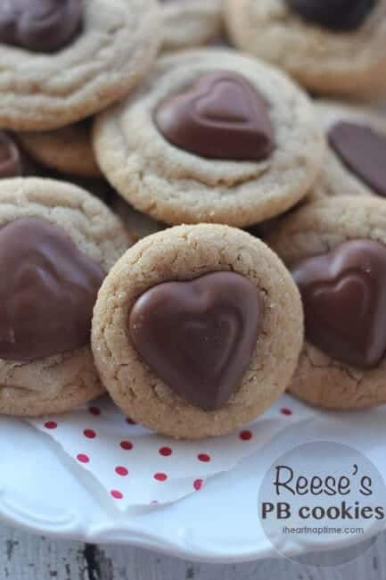 reese\'s peanut butter cookies on plate