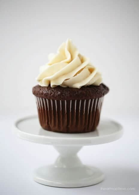 Best chocolate cupcake recipe from I Heart Nap Time