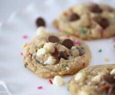 Birthday cookie recipe