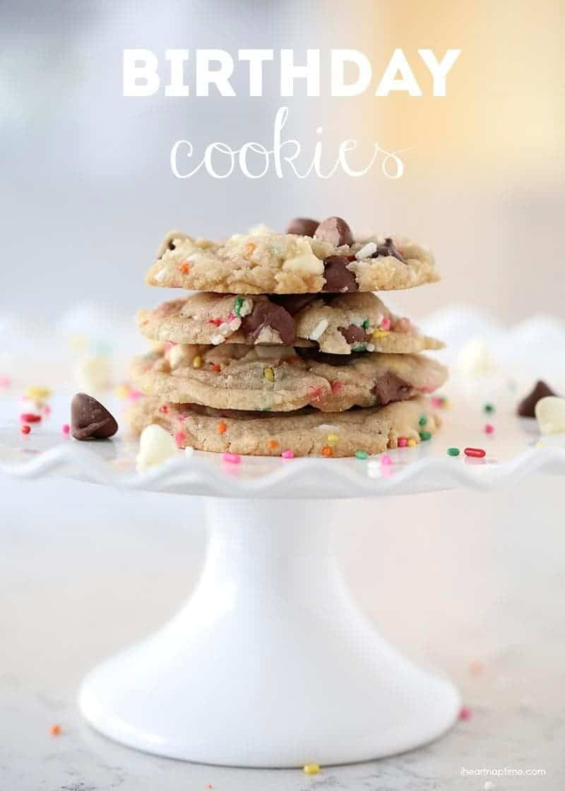 Birthday cookies recipe